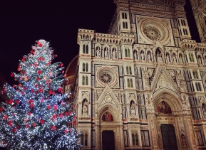 Christmas Time in Florence.