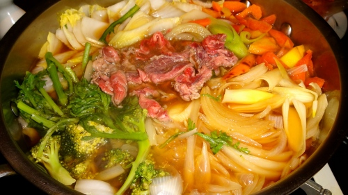 Beef and Vegetables!