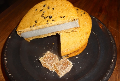 Black Sesame Ice Cream Sandwich (7.5/10).