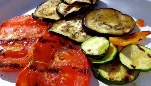 Grilled Veggies.
