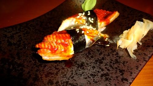 Unagi /Freshwater Eel (8/10).