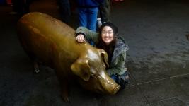Rachel the Piggybank!