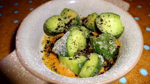 Cucumber Salad (6.5/10).