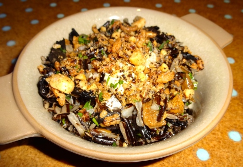 Wild Rice and Mushroom Salad (6/10).