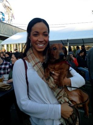 Trisha and Rosco!