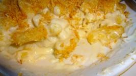 Gilroy Garlic Mac and Cheese.