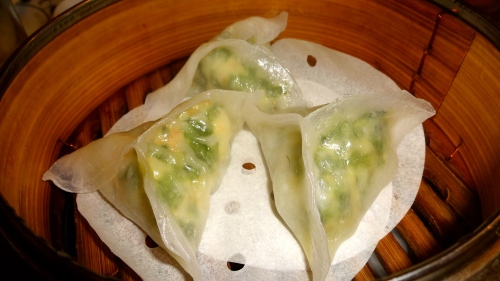 Shrimp and Chive Dumpling (8/10).