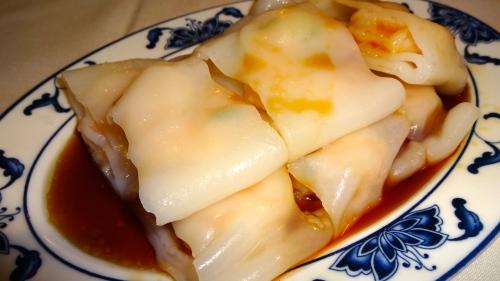 Rice Noodles with Shrimp (7.5/10).