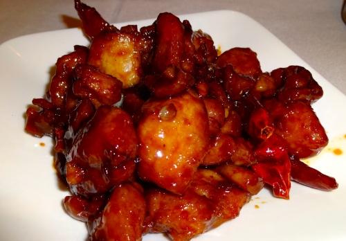 Szechuan Chicken (7.5/10).