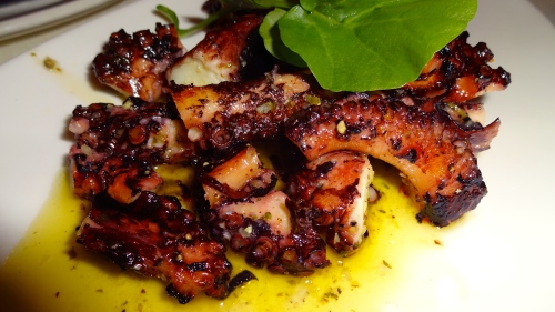 Octapodaki tou Yiorgou: Grilled Octopus with Lemon, Oregano, and Olive Oil (7.5/10).