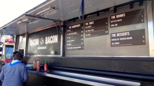 Bacon Bacon Food Truck.