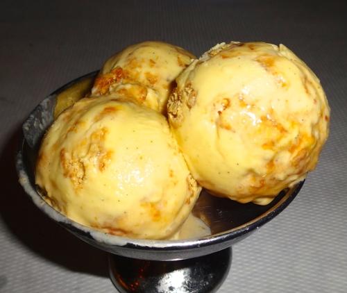 Palmier Ice Cream with Calvados Caramel (8/10).