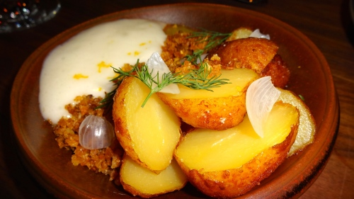 Potatoes with Buttermilk Foam (8/10).