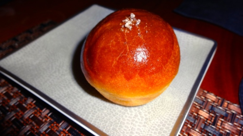Brioche served with Foie Gras (8.5/10).