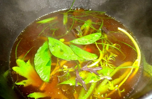 Close Up of the Soup.