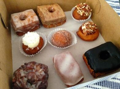 Cronuts and Mini Donuts! Yum!