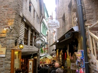 Little Shops at Mont Saint-Michel.