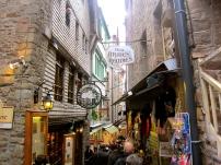Little Shops at Mont Saint-Michel.