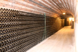 Cellars of Moët & Chandon.