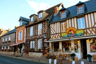Beuvron-en-Auge, Small Town in Normandy.