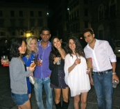 Night Out in Florence.