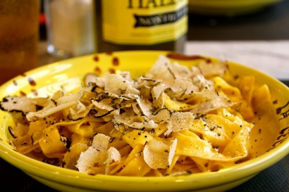 Tagliatelle with Black Truffle.