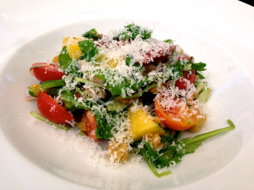 Garden Tomato Salad (7/10).