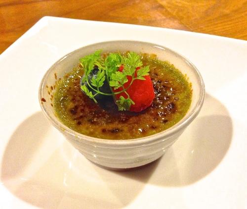 Green Tea Crème Brûlée (8.5/10).