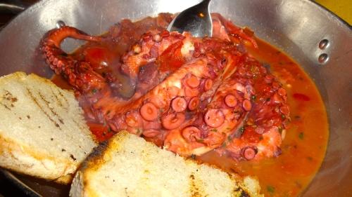 Polpo alla Luciana (Stewed Octopus).