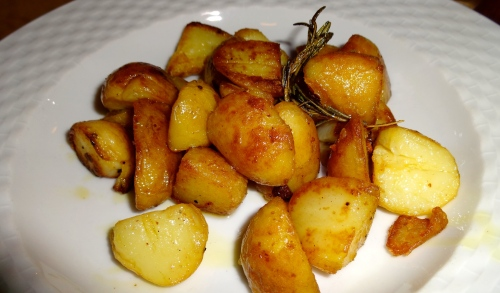 Patate Saltate (Sautéed Potatoes).