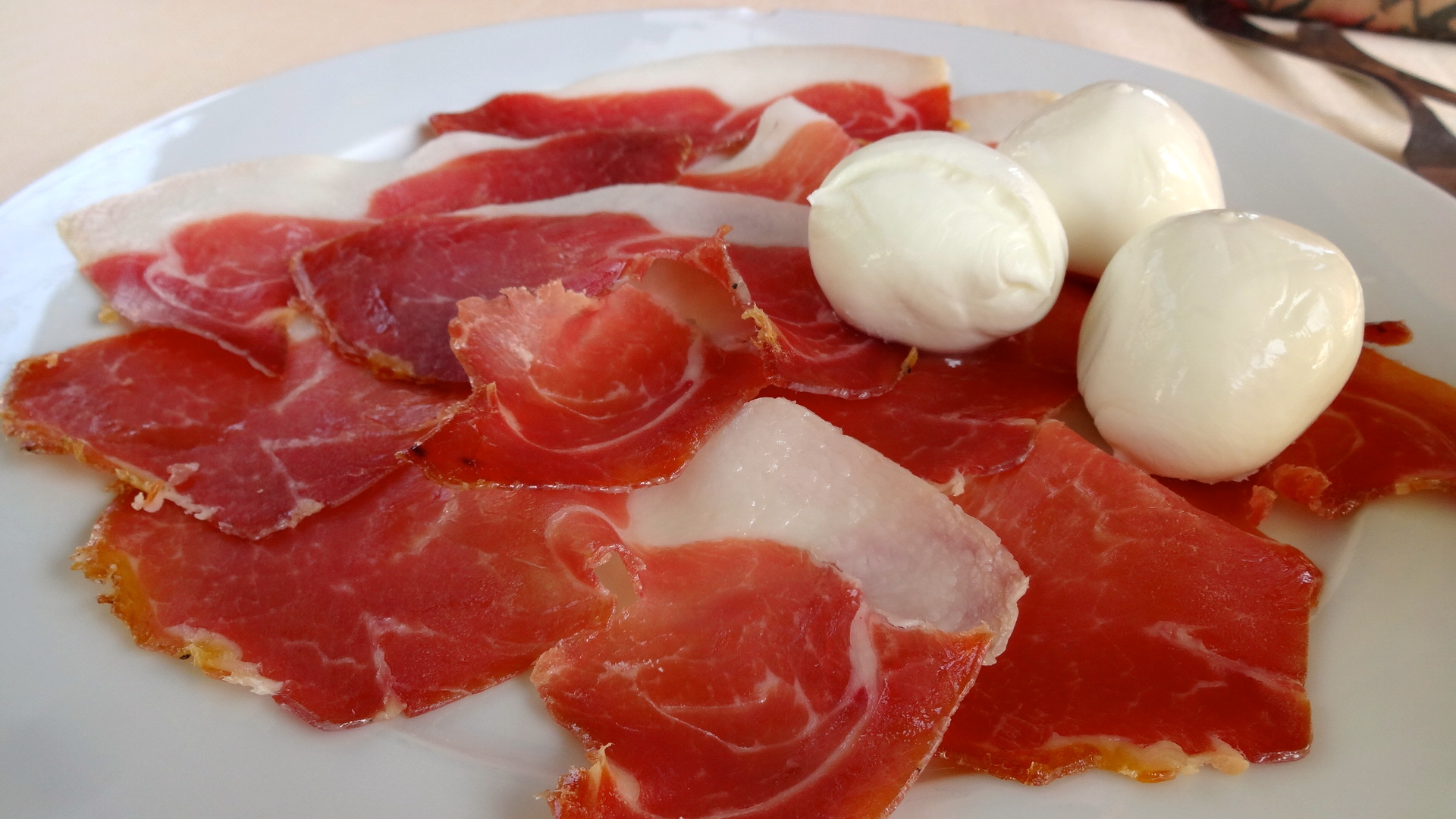 ... Mozzarelle di Bufala (Cured Meat and Buffalo Mozzarella Cheese