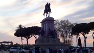 Piazza Gianicolo.