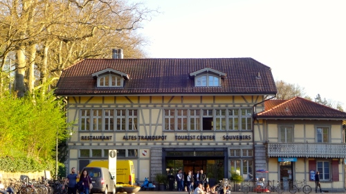 Restaurant Altes Tramdepot.