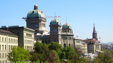 Bundeshaus: Federal Palace of Switzerland.