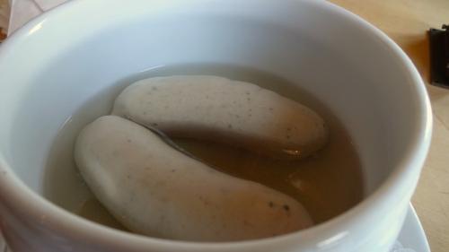 Bavarian Sausages.
