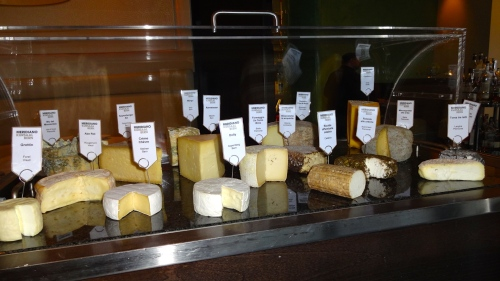 Cheese Cart Even Though I Didn't Get Any.