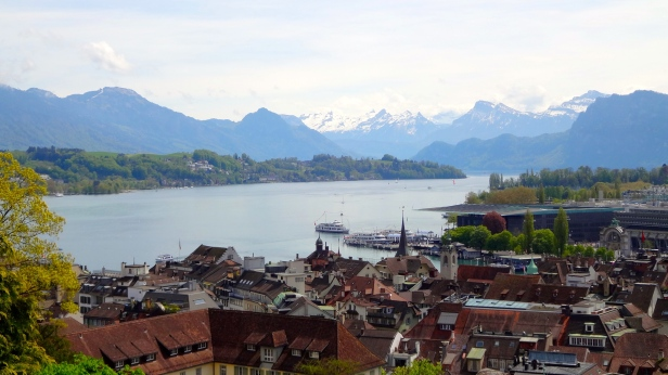 View of Lake Lucerne.