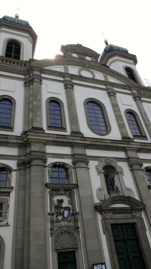 Jesuitenkirche.