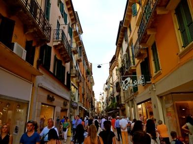 Streets of Verona.
