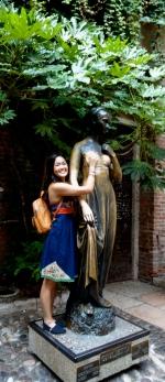 Bronze Juliet Statue.