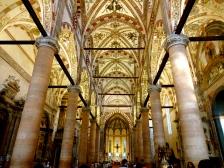 Inside Saint Anastasia Church.