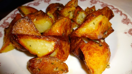 Roasted Potatoes (8/10).