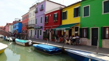 Colorful Streets of Burano.