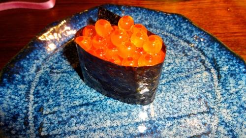Ikura/Salmon Roe (8.5-9/10).
