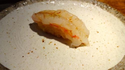 Amaebi/Sweet Shrimp Nigiri (7/10).