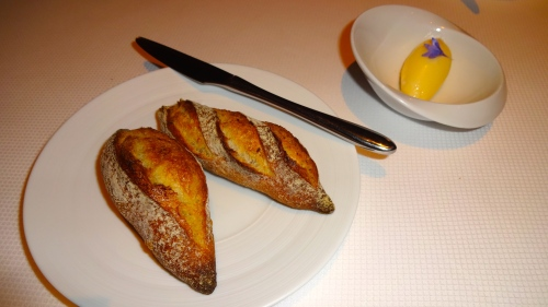 Bread with House Cultured Butter (7/10).