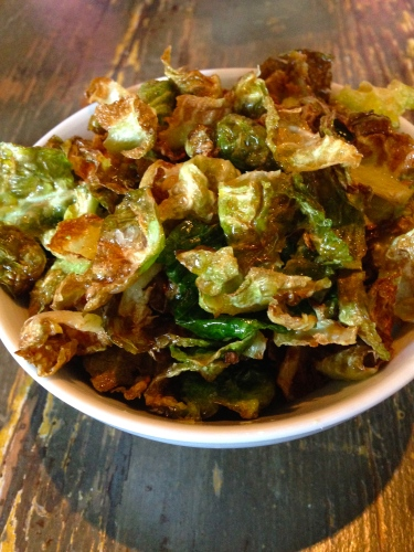 Brussel Sprout Chips with Lemon and Sea Salt (8/10).