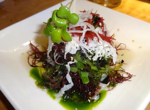 Seaweed Salad (7/10).