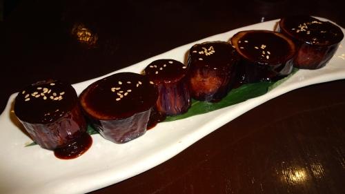 Nasu Miso: Eggplant with Miso (7.5/10).