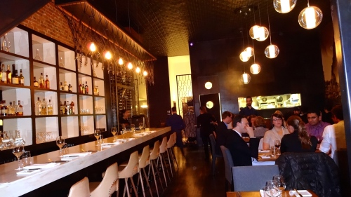 Inside Restaurant Les 400 Coups.